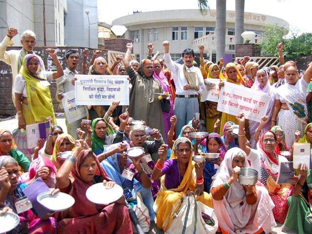destitute pension,Bhopal gas tragedy,Bhopal Gas Peedit Nirashrit Pension Bhogi Morcha