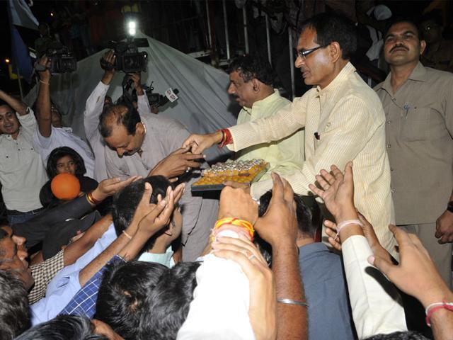 Madhya-Pradesh-chief-minister-Shivraj-Singh-Chouhan-Praveen-Bajpai-HT-Photo