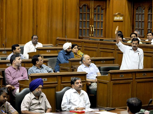 Delhi Assembly,AAP government,resolution