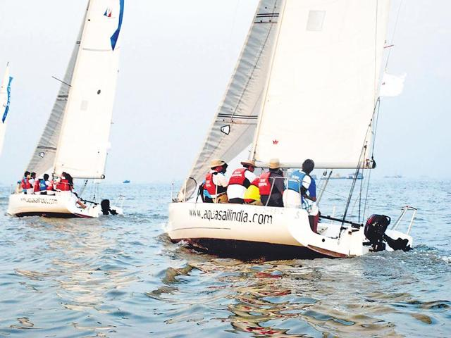 Sailing,Mumbai,City Beauty