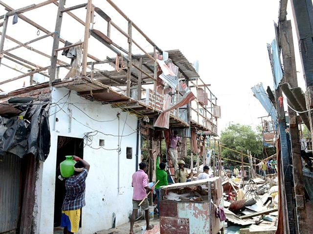 Huts demolished in Mumbai,Pre-monsoon drive,Mangroves