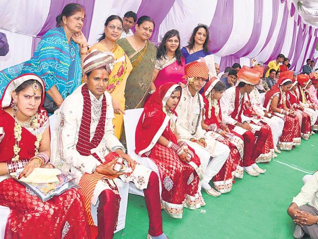 22-women-of-the-social-justice-and-empowerment-department-run-Mahila-Sadan-wait-to-tie-the-knot-in-Jaipur-on-Thursday