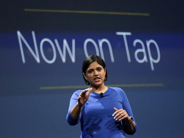 Aparna-Chennapragada-Director-of-Product-Management-speaks-during-the-Google-I-O-developers-conference-in-San-Francisco-Photo-Reuters