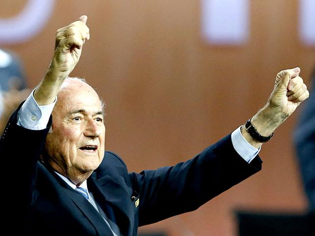 FIFA-President-Sepp-Blatter-reacts-after-he-was-re-elected-at-the-65th-FIFA-Congress-in-Zurich-Switzerland-REUTERS