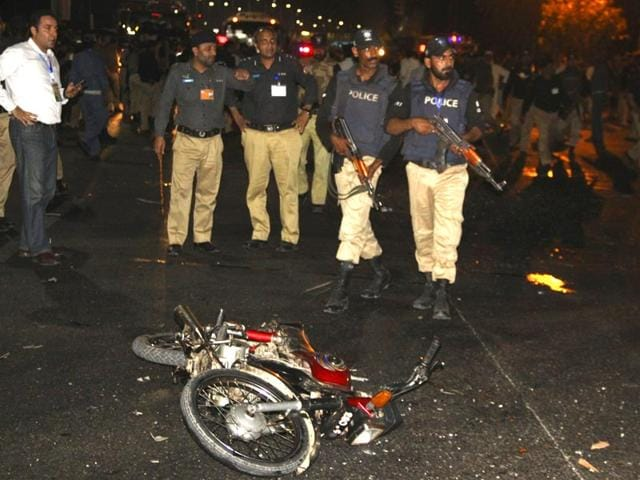 Police-inspect-the-site-of-a-blast-that-occurred-during-the-cricket-match-between-Pakistan-and-Zimbabwe-near-Gaddafi-Stadium-in-Lahore-Pakistan-Reuters-Photo