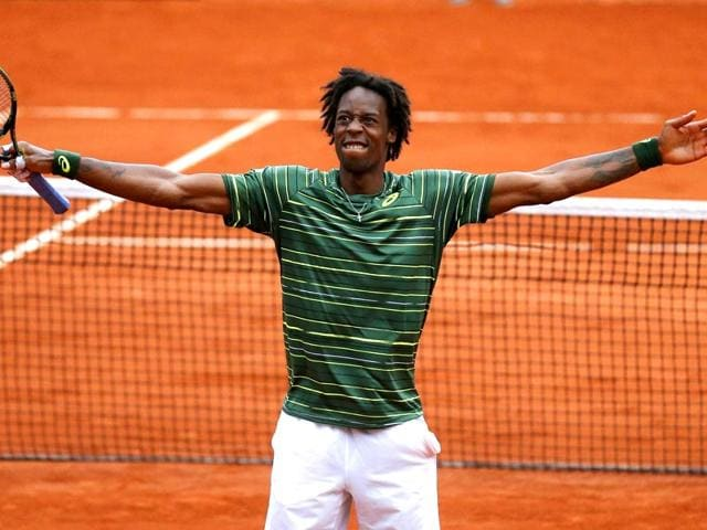 Gael-Monfils-of-France-celebrates-after-beating-Pablo-Cuevas-of-Uruguay-during-their-men-s-singles-match-at-the-French-Open-tennis-tournament-at-the-Roland-Garros-stadium-in-Paris-France-Reuters-Photo