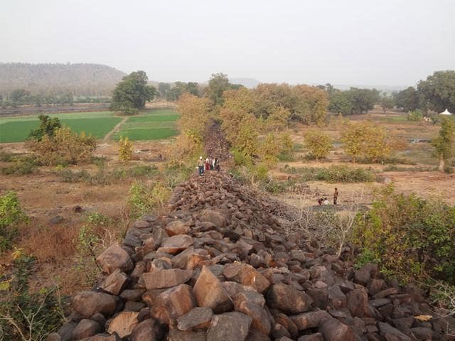 The-remains-of-great-wall-of-Raisen-HT-file-photo