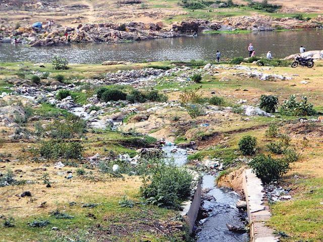Untreated-sewage-flows-into-the-Damodar-at-Nayasarai-in-Jharkhand-HT-Photo