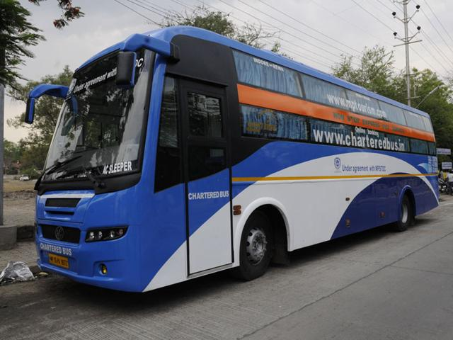Volvo buses in Indore give rough ride to other transport operators | indore | Hindustan Times