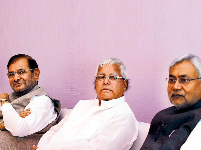 The-ruling-JD-U-and-the-RJD-have-decided-to-contest-Bihar-assembly-elections-in-alliance-HT-File-Photo