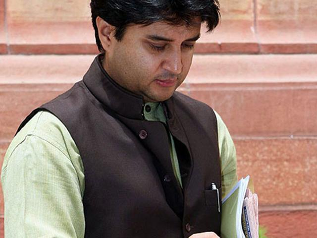 Jyotiraditya Scindia,Congress,NDA government