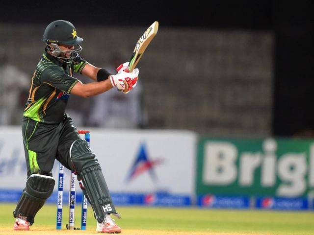 Pakistani-batsman-Ahmed-Shehzad-plays-a-shot-during-the-second-and-final-International-T20-cricket-match-between-Pakistan-and-Zimbabwe-at-the-Gaddafi-Cricket-Stadium-in-Lahore-AFP-Photo