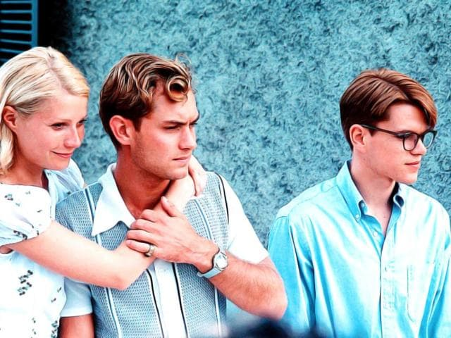 Gwyneth-Paltrow-Jude-Law-and-Matt-Damon-in--a-still-from-The-Talented-Mr-Ripley