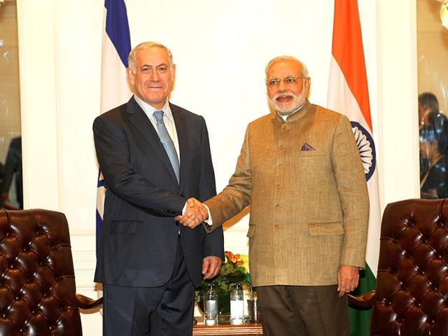 Israeli-PM-Benjamin-Netanyahu-and--Indian-PM-Narendra-Modi-File-Photo-HT