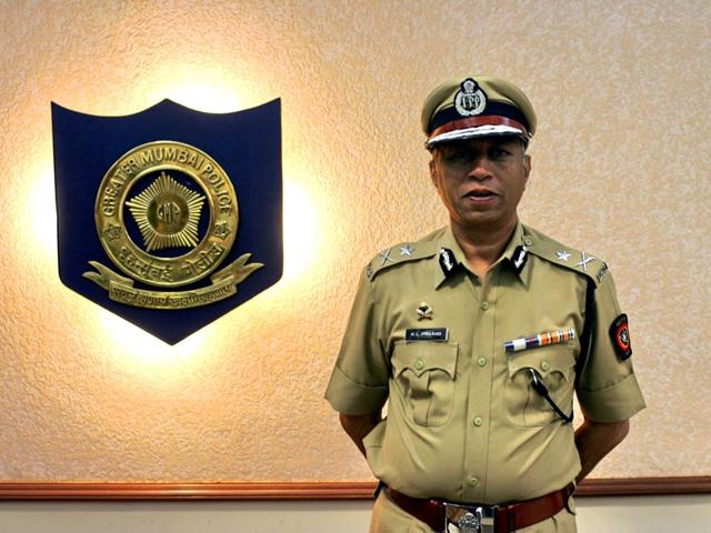 KL-Prasad-1982-batch-IPS-officer-and-Navi-Mumbai-commissioner-submitted-his-application-for-voluntary-retirement-HT-photo