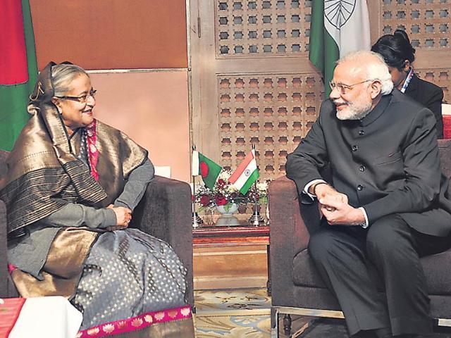 Prime Minister Narendra Modi,Bangladesh tour,Sheikh Hasina