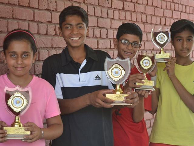Under-12 tennis tournament