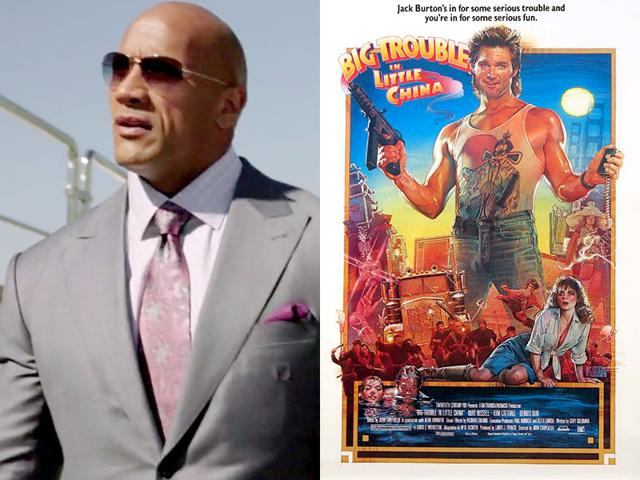 Forget it Dwayne, it's Chinatown: The Rock signs up for Big Trouble remake