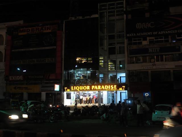 Liquor sale in Madhya Pradesh