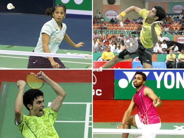 Badminton,HS Prannoy,Gurusaidutt