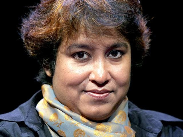 File-photo-of-Bangladeshi-writer-Taslima-Nasreen-in-Paris-She-recently-relocated-to-the-US-after-receiving-death-threats-from-Islamist-extremists-AFP-Photo