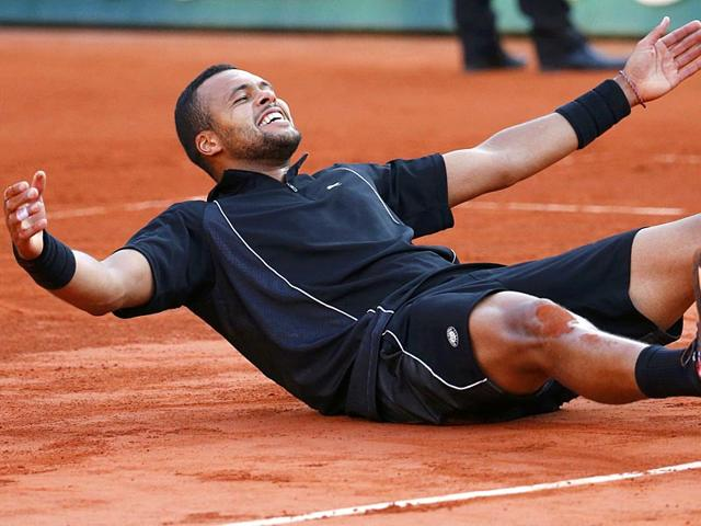 Jo-Wilfried-Tsonga-of-France-celebrates-after-defeating-Kei-Nishikori-of-Japan-during-their-men-s-quarter-final-match-during-the-French-Open-in-Paris-France-Reuters-Photo