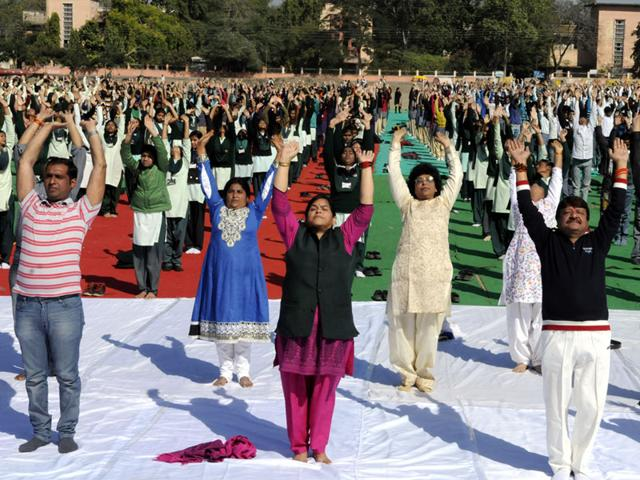 On the move: Indian Army to participate in Yoga Day with 'full force'