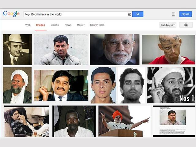 Google images,top 10 criminals of world,PM Modi