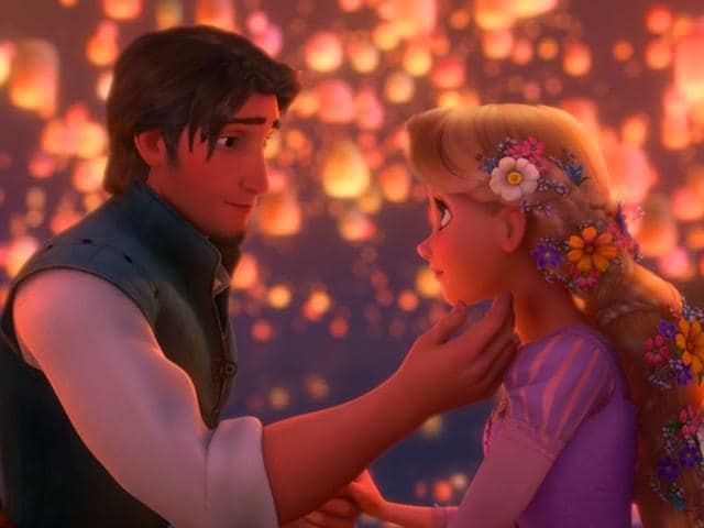 A Still From Tangled 2010