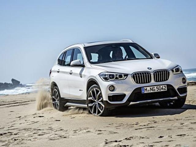 New BMW X1,Frankfurt motor show,small SUV