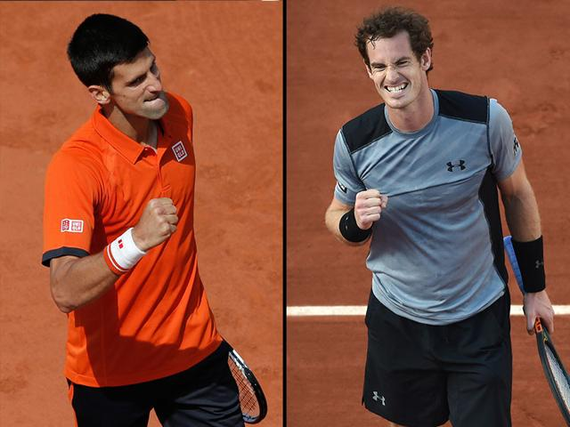 French Open: Djokovic, Murray faceoff in battle of untouchables