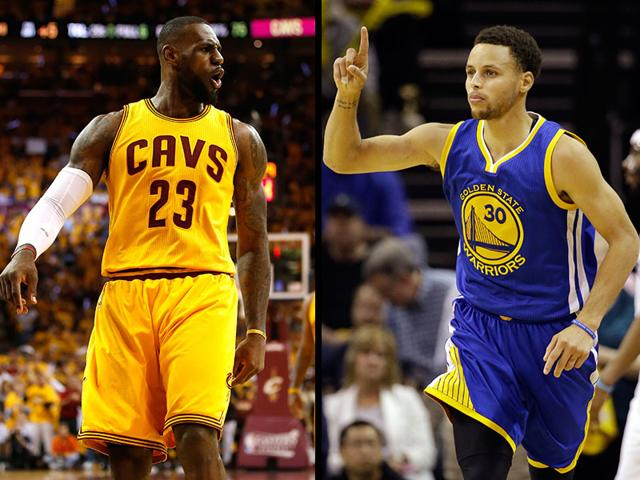 Lebron-James-of-the-Cleveland-Cavaliers-will-faceoff-against-Stephen-Curry-of-the-Golden-State-Warriors-in-the-NBA-2015-Finals-Agencies