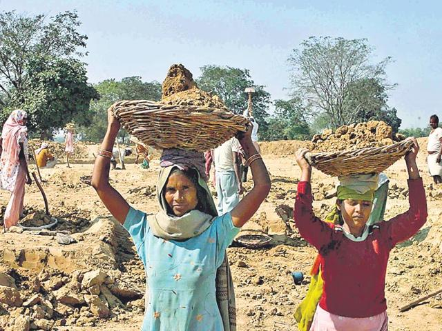 The-dual-impact-of-lower-production-and-falling-crop-realisations-has-translated-into-depressed-rural-incomes-shrunk-further-by-cutbacks-in-MGNREGA-wage-spends-HT-Photo