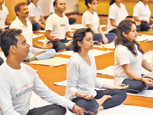 Yoga-classes-underway-at-the--Morarji-Desai-National-Institute-of-Yoga-in-New-Delhi-Vipin-Kumar-HT