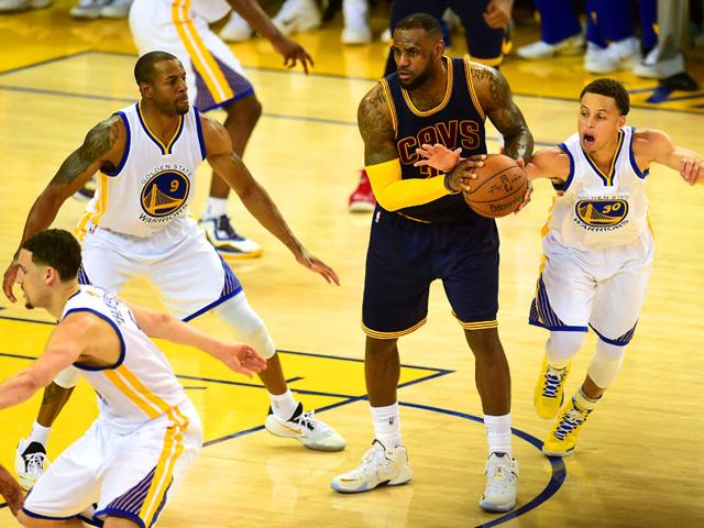 Cleveland Cavaliers lose NBA Finals opener to Golden State Warriors