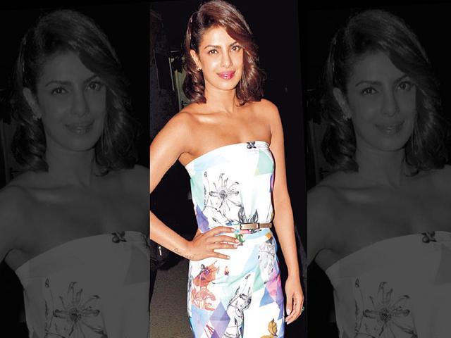Priyanka Chopra,Monica Dogra,Europe Music Awards 2015