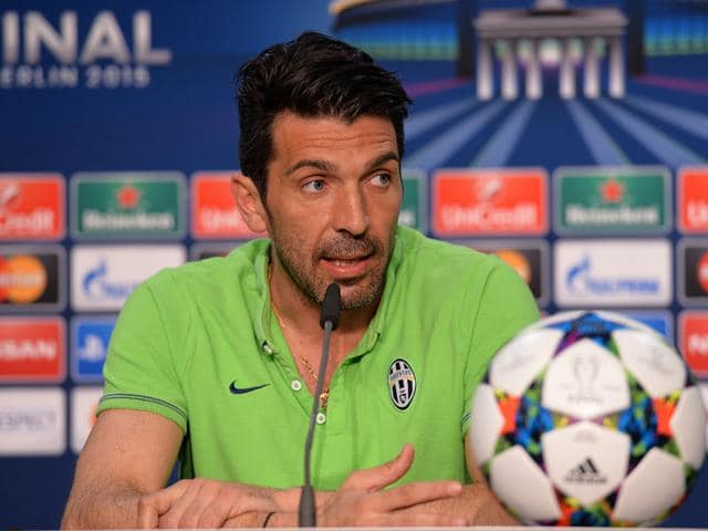Juventus-Gianluigi-Buffon-during-the-press-conference-before-the-UEFA-Champions-League-Final-in-Berlin-Germany-REUTERS