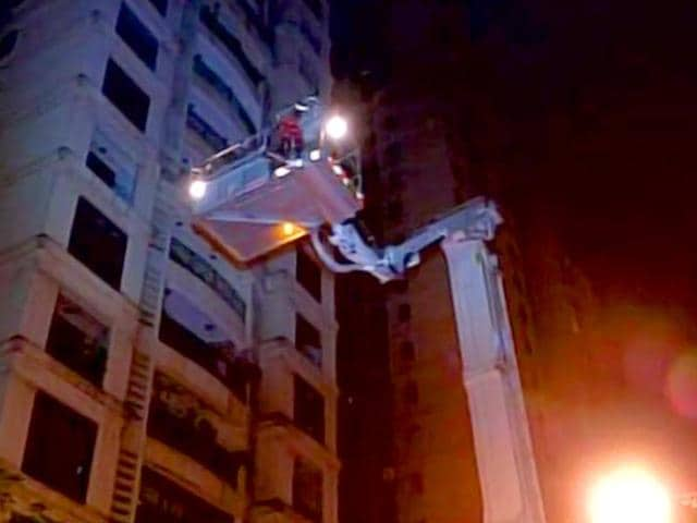 At-least-seven-people-died-and-several-people-were-injured-after-a-fire-broke-out-at-a-21-storey-building-in-Powai-in-Mumbai-ANI-photo