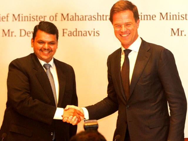 Maharashtra-CM-Devendra-Fadnavis-and-Prime-Minister-of-Netherlands-Mark-Rutte-addressed-a-joint-press-conference-at-a-hotel-in-Mumbai-Arijit-Sen-HT-photo