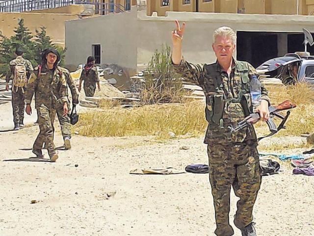 Enright-in-Kurdish-Military-Uniform-AP-Walt-Disney