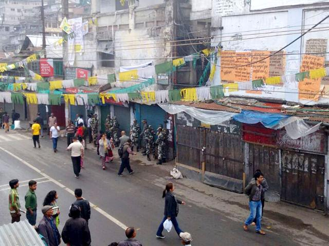 Darjeeling-has-witnessed-frequent-bandhs-over-the-years-with-the-Gorkha-National-Liberation-Front-and-GJM-enforcing-shutdowns-in-support-of-their-demand-for-a-separate-state-of-Gorkhaland-HT-Photo