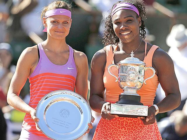 Serena Williams,Lucie Safarova,French Open