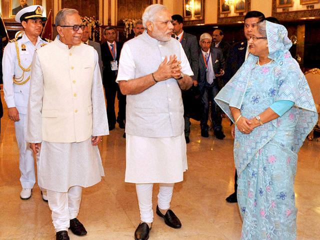Land boundary deal done, PM Modi talks Teesta, development in Bangladesh