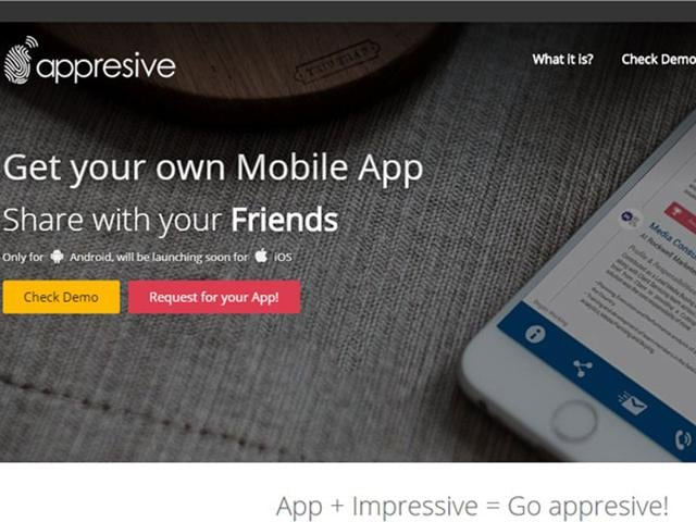 An-Indore-based-group-of-innovators-have-created-a-website-titled-Appresive-which-works-on-creating-applications-HT-photo