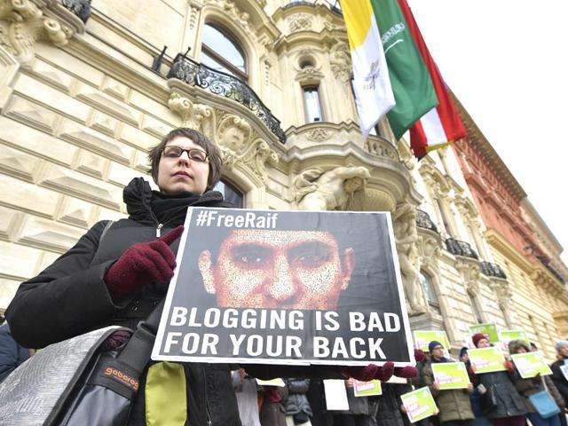 Raif Badawi,Saudi Arabia,Thousand lashes