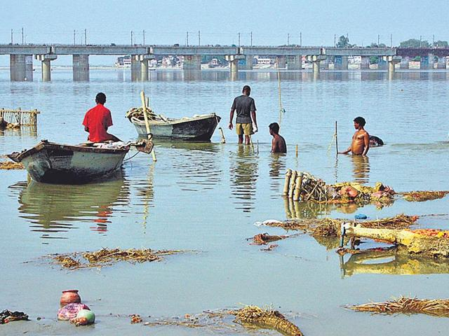 Ganga river,National Mission for Clean Ganga,pollution