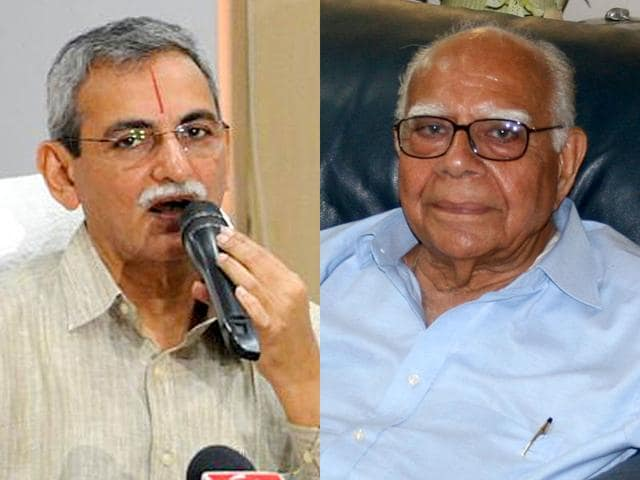 Former-minister-and-eminent-jurist-Ram-Jethmalani-Right-has-threatened-to-challenge-the-appointment-of-KV-Chowdary-as-CVC
