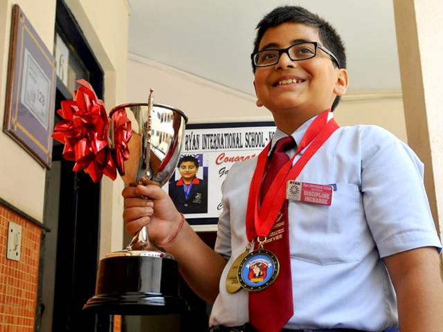 Gaurav-Pandey-a-student-of-Ryan-International-School--Noida-won-the-first-ever-KenKen-International-Championship-HT-Photo-Hindustan-Times