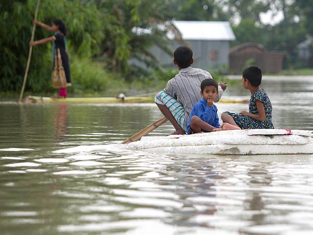 Assam floods,death toll,Bramhaputra valley