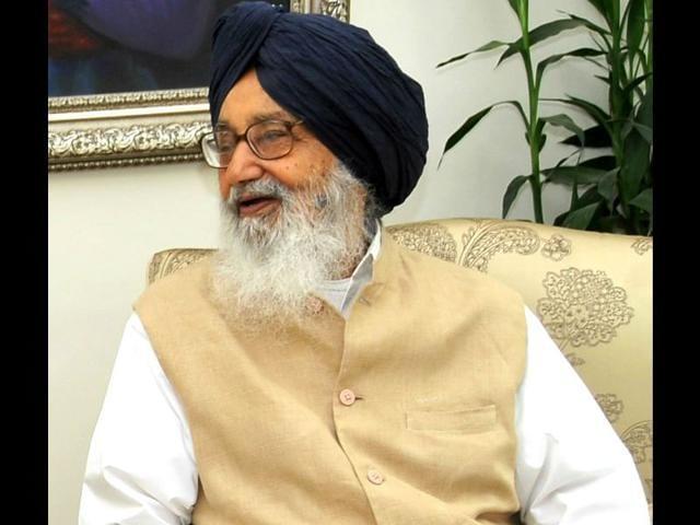 Parkash-Singh-Badal-chief-minister-Punjab